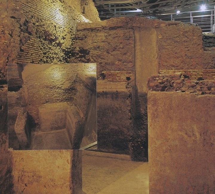 Area archeologica del Vicus Caprarius - la Città dell'Acqua: la cisterna.