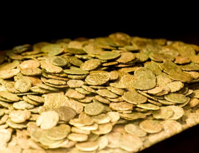 Tesoretto monetale del Vicus Caprarius