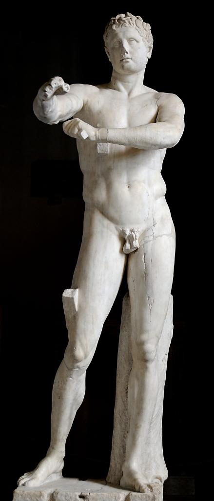 Apoxyomenos, Lisippo, Museo Pio-Clementino (Musei Vaticani)